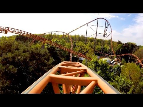 Holiday - Expedition GeForce is ranked the #1 BEST Steel Roller Coaster in the World! And it's AWESOME! Filmed by Hanno Roos - http://www.themeparkreview.com Follow us...