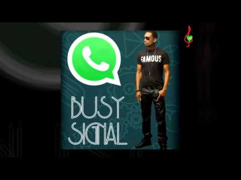 Busy Signal - Text Message (RAW)