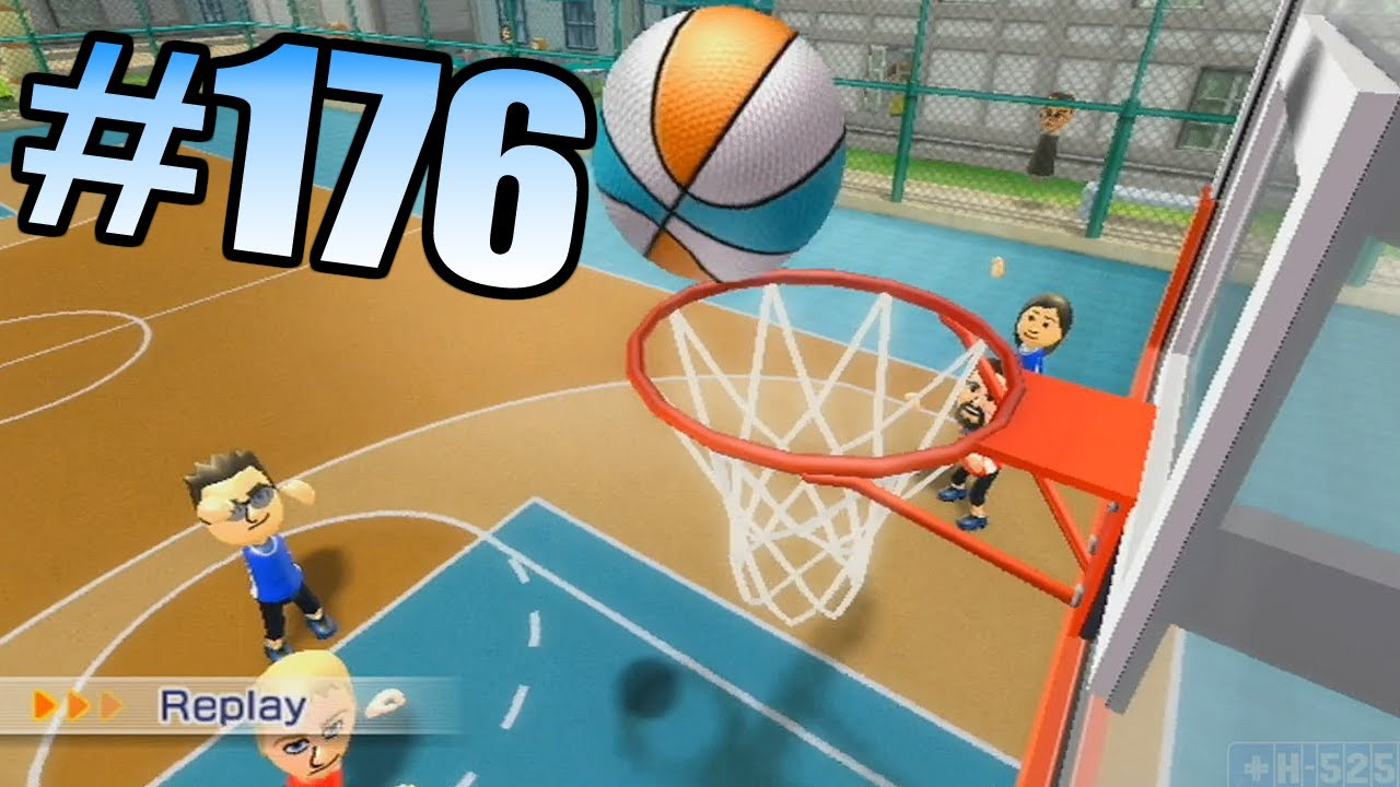 Wii Have Fun #176: Wii Sports Resort (Game 4 part 2; Basketball)