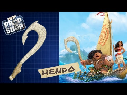 How to Build a LowBudget Replica of Maui s Hook From Disney s
