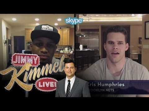humphries - Jimmy Kimmel Live - Skype Scavenger Hunt NBA Edition with Rudy Gay & Kris Humphries Jimmy Kimmel Live's YouTube channel features clips and recaps of every ep...