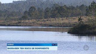 MPF pede esvaziamento de barragem em Iaras com alto risco de rompimento