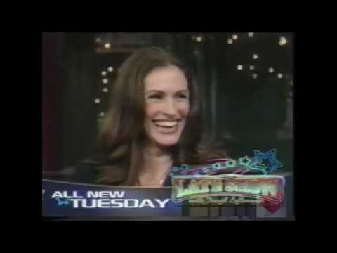 Late Show with David Letterman   CBS   Promo   2009   Nicolas Cage Julia Roberts