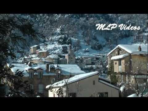 Vico sous la neige [HD]