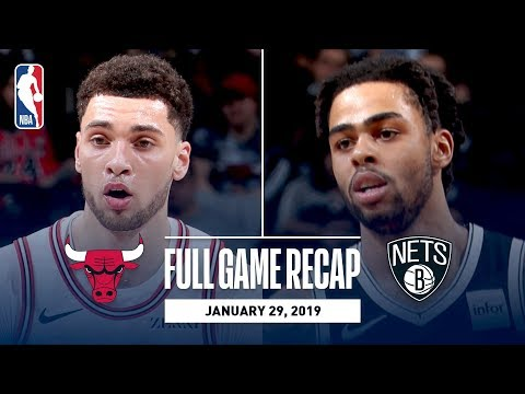 Video: Full Game Recap: Bulls vs Nets | D'Angelo Russell Drops 30 And Dishes Out 7 Assists