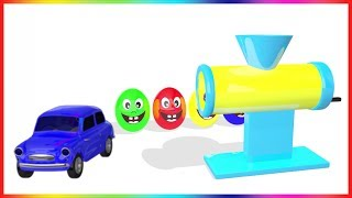 Video Learn Colors with Surprise Eggs Car Making Machine Toy Appliance | Colours with Vehicles MP3, 3GP, MP4, WEBM, AVI, FLV Mei 2017
