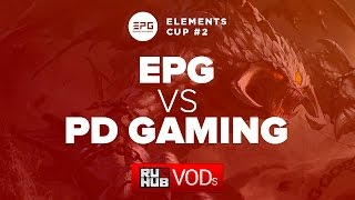 Elements vs ProDota, game 1