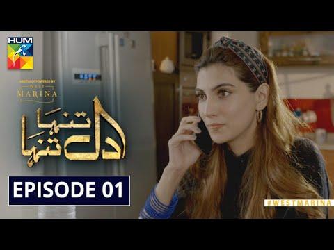 Dil Tanha Tanha | Episode 1 | Digitally Powered by West Marina | HUM TV | Drama | 18 November 2020