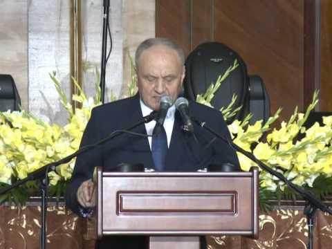 Președintele Nicolae Timofti a participat la ceremonia de decernare a Premiilor Naționale, dedicată aniversării a 23 de ani de la proclamarea Independenței Republicii Moldova