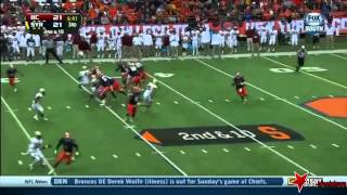 Kevin Pierre-Louis vs Syracuse (2013)