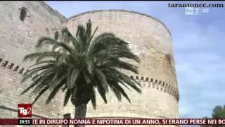 Per la rubrica del Tg2 dedicata ai siti culturali, le meraviglie del Castello Aragonese di   Taranto   , eccellenza italiana, con commento del Prof. Tullio Gregory.