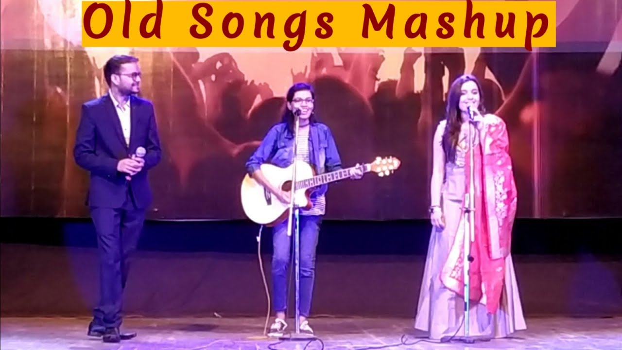 Old Hindi Songs Mashup on Guitar   Evergreen Bollywood Medley  ft Sumit & Siddhi