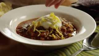 Chili Recipe - How to Make Chili