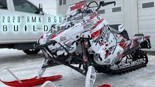 1. 2020 Polaris RMK 850 Snowmobile Build