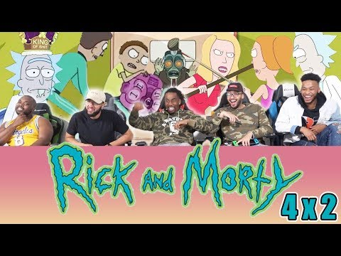 "Who Sh*t In Ricks Toilet?! Rick And Morty 4 x 2 Reaction! ""The Old Man and the Seat"""