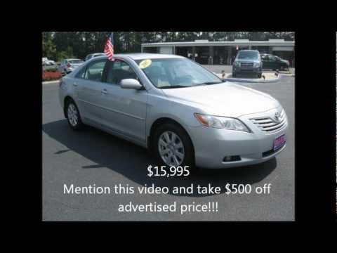 Used 2007 Toyota Camry | Franklin Va Dealer Serving Emporia Suffolk Va