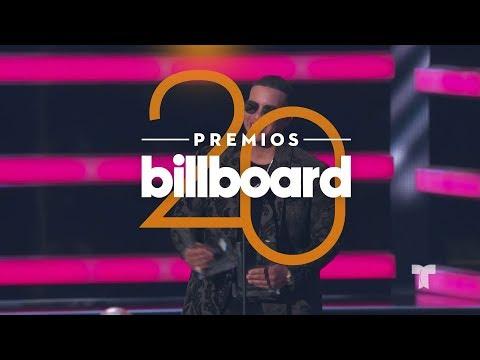 Daddy Yankee es el ganador con más premios en Billboards 2018 | Premios Billboards 2018