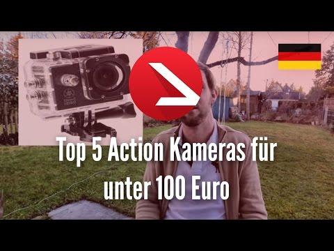 Top 5 Action Kameras für unter 100 Euro [4K UHD]