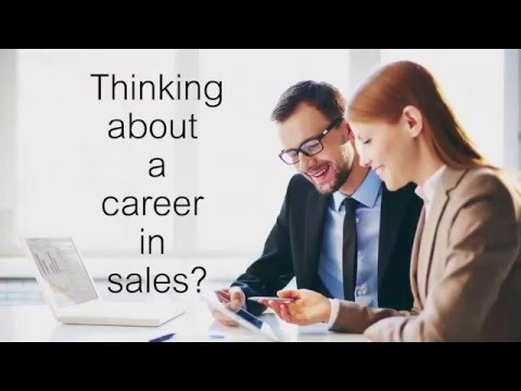 Starting a career in sales - how to part 1