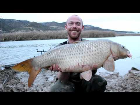 Wintervissen op karper in Spanje