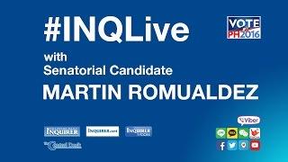 #INQLive with Martin Romualdez