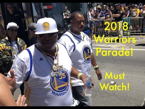 Best Moments Warriors 2018 Championship Parade