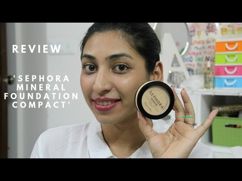 Review | SEPHORA Mineral Foundation Compact | Good for Oily/Combination skin people