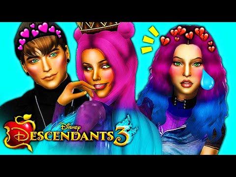 AUDREY PROPOSES TO BEN! BEN LEAVES MAL..?! 😈 DESCENDANTS 3 Sims 4 (Ep 5) | Disney's Descendants