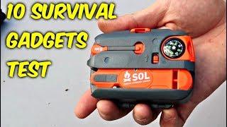 Video 10 Survival Gadgets put to the Test - part 2 MP3, 3GP, MP4, WEBM, AVI, FLV Juli 2018