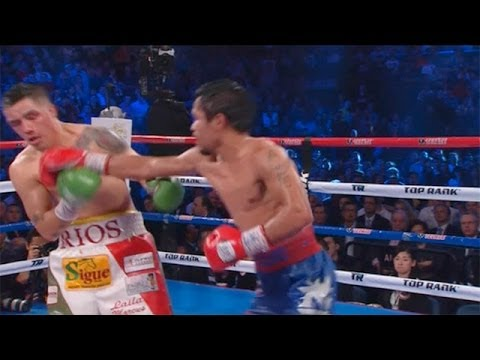 Manny - Manny Pacquiao's win over Brandon Rios: fight highlights Subscribe to the Guardian HERE: http://bitly.com/UvkFpD Manny Pacquiao dominates his bout against Br...