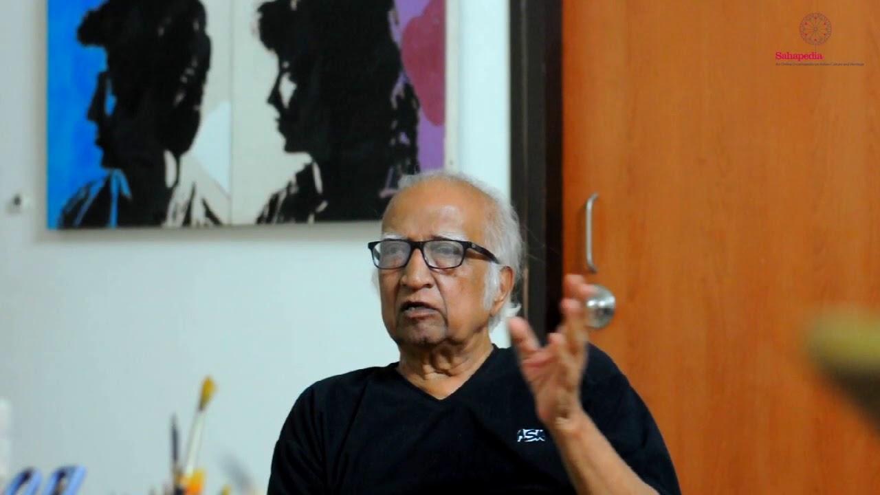 Vinod Shah on Jyoti Bhatt