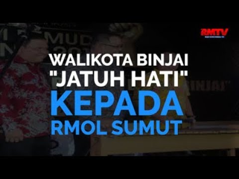 Walikota Binjai Jatuh Hati Kepada RMOL Sumut