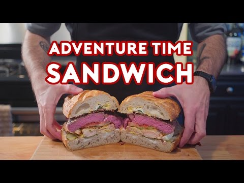 Chef Recreates Jake s Perfect Sandwich from Adventure