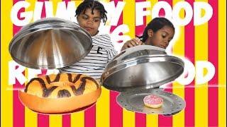 Video REAL FOOD VS GUMMY FOOD CHALLENGE - Vraie Nourriture Ou Bonbon : #sakinafamily6 MP3, 3GP, MP4, WEBM, AVI, FLV Oktober 2017