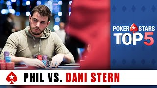 Video Top 5 Poker Moments - Phil Hellmuth vs. Dani Stern | PokerStars.com MP3, 3GP, MP4, WEBM, AVI, FLV Maret 2019