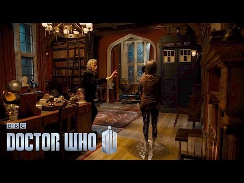 Bill's first experience of the TARDIS! - The Pilot - Doctor Who: Series 10 Episode 1 - BBC One