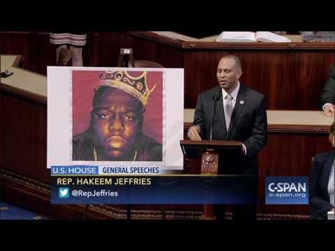 Rep. Jeffries tribute to rapper Biggie Smalls – Notorious B.I.G. (C-SPAN)