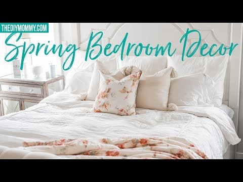 Clean & Decorate With Me | Spring Bedroom Decor