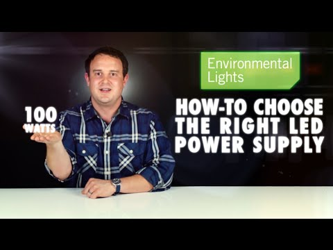 How to Choose the Right LED Power Supply