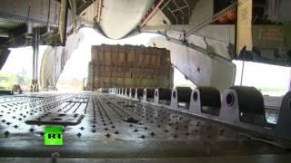 Сирийские ВВС при поддержке военных РФ доставили гумгруз в осажденный боевиками Дейр-эз-Зор