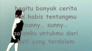 Video Bunga Citra Lestari = Sunny(Cinta Pertama)[Lyrics] MP3, 3GP, MP4, WEBM, AVI, FLV Juli 2018