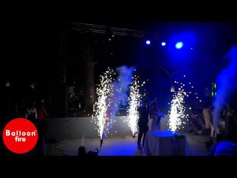 Συντριβάνια-Co2-Πυροτεχνήματα Poco Poco