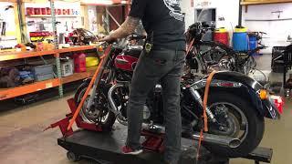 10. 2008 Triumph Speedmaster (blk-red) 2177 Fallen Cycles