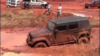 Klerksdorp South Africa  City new picture : Toyota, Jeep Wranglers and Pajero Stuck in Mud Klerksdorp, South Africa