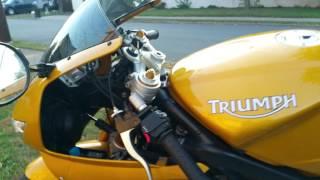 10. 2007 Triumph Daytona 675 with Danmoto Dual Exhaust