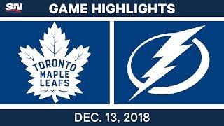 NHL Highlights | Maple Leafs vs. Lightning - Dec 13, 2018 by Sportsnet Canada