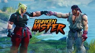 Drunk People Try to Retell Street Fighter 5's Bonkers Story Mode - Act 2 by IGN
