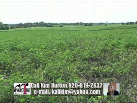 VACANT LAND for Sale for new home CONSTRUCTION Michiels RD lot Eaton Denmark, WI Kim Burton.mp4