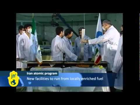Iran reactor - In a ceremony on Iranian live TV, Iran's President Mahmoud Ahmadinejad observed nuclear fuel rods being loaded into the Tehran medical research reactor. It w...
