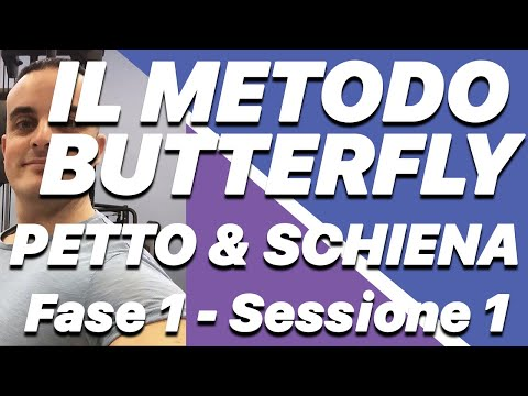 il Metodo Butterfly: Fase 1 Sessione 1
